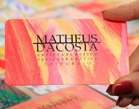 Cartão de Vista - Obra de arte (Business Cards)