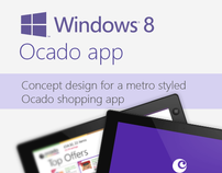 Ocado Windows 8 concept