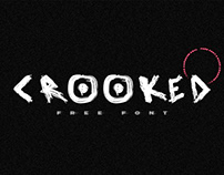 CROOKED - FREE FONT