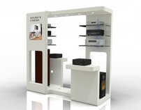 Retail Display Stand (with IDESO)