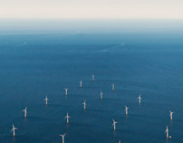 Aerials Windpark Baltic Sea