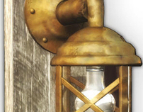 Lámpara - diseño conceptual
