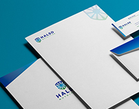 Halso Nutrition Logo Identity Package