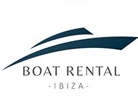 Boat Rental Ibiza | Logo design