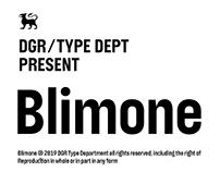 Blimone Typeface