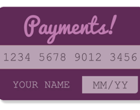 UI Design Challenge 10: Credit Card Payment Info