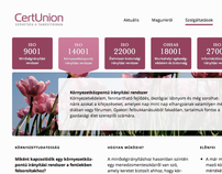 CertUnion Website