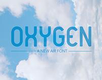 OXYGEN - Air font