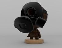 Gasmask toy
