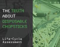 Chopsticks / Life Cycle Assessment
