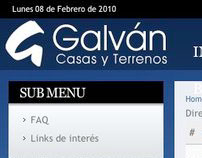 Galván Casas : Logo Redesign & Web Site Design/Develop