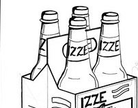 IZZE Packaging