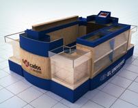Diseño de Isla 3D