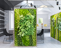 green panel