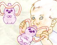 Happy Hamster Sippy Cup