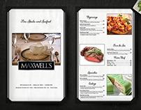 Maxwell's Menu Design