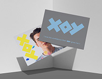 XOY Cosmetic Brand eXperience Design