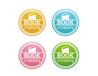 Internal Bookcrossing Action Stickers