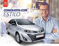 Campaña de Presentación del Toyota Yaris 2018