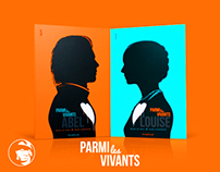 PARMI LES VIVANTS - BOOK COVER