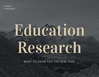 Education Research: What to Know for the New Year