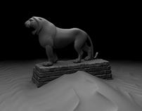 LION TURNTABLE