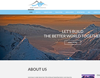 Web design for Snow Leopard Foundation