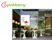 Pinkberry Retail Campaign