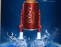 Lounge soda e advertising designs