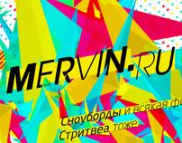 Mervin - style & website
