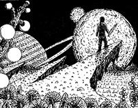 Sketches: fantasy worlds