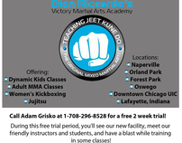 Victory MMA Flyer (back side)