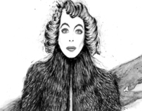 Joan Crawford by Gareth Pugh FW12/13