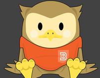 Mascote Infantil Bertrand