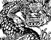 """""""Akuma No Ryoshi"""" - Lithograph Print"""