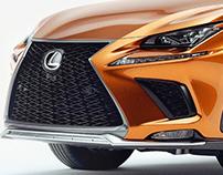 Lexus NX300 Octane Studio Render - CGI & Retouching