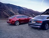 Audi A5 Campaign Visual World 2016