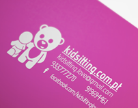 Logo: Kidsitting With Love