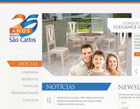 Móveis São Carlos - Website