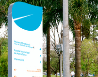 Signage Project - Parque do Ibirapuera