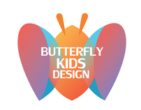 Butterfly Kids Design LOGO