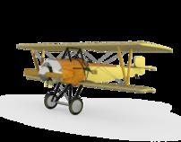 3D: Nielsen & Winther Type AA 1917 Dennmark