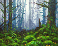 Mossy Forest, commission