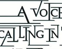Typographic Posters—Undergrad