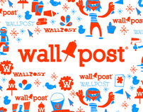 Wallpost® Social Media Branding