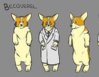 Character Design: Becquerel