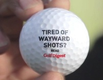 A STROKE OF OFFBEAT HUMOUR - GOLF DIGEST MAGAZINE