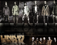 "LINKIN PARK // ""GARDEN OF INSTRUMENTS"" FLYER DESIGN!"