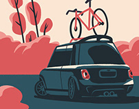 Mini Cooper Illustration Collection