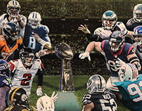 CBS SPORTS Social Media // NFL Kickoff Graphic